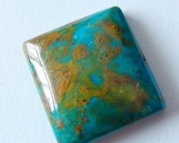 20 Cts Natural Blue Opal Cabochon