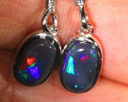 DOUBLET SILVER  EARRINGS  7  CTS    OF-1075 GC