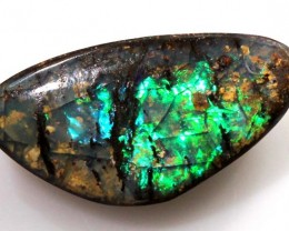 WOOD BOULDER OPAL POLISHED STONE 9.60 CTS  INV-228
