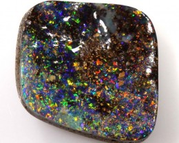 BOULDER OPAL POLISHED STONE 9.62 CTS  INV-236