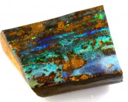 BOULDER OPAL ROUGH 24.75 CTS DT-4633