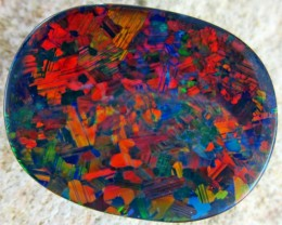 DOWN UNDER 'FOREST FIRE''  BLACK  OPAL  .12.45  CTS  [MS1 ]