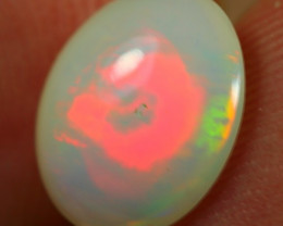 1.45cts REMARKABLE RED FIRE BASE Natural Untreated Ethiopian Opal