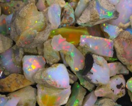 Ethiopian Opal Rough Parcels
