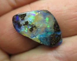 11cts. BOULDER OPAL, UNIQUE FLASH.