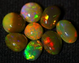 5.20Ct Bright Color Play Ethiopian Brown Welo Opal Parcel Lot