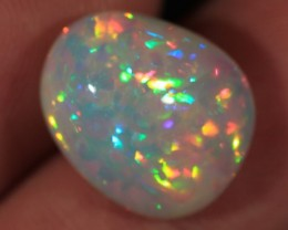 7.02CT~WELO OPAL CAB~BRILLIANT 5/5~MICRO PUZZLE PATTERN