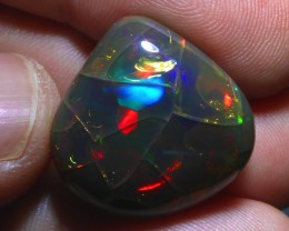 18.5 Bright Natural Ethiopian Welo Not Enhanced Opal Specimen / 5/5 Colours