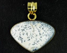 53.7Cts Dendritic Turkish Opal pendant  BU637