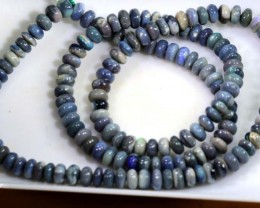 73 CTS OPAL BEADS  BLACK TBO-3729