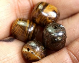 22.90 CTS BOULDER OPAL BEADS TBO-3760