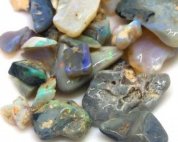 100 CTS BLACK OPAL ROUGH PARCEL DT-5294