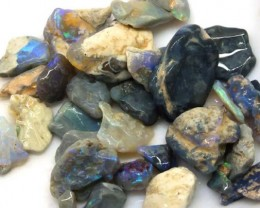 100 CTS BLACK OPAL ROUGH PARCEL DT-5304
