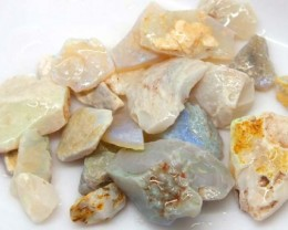 63.75 CTS WHITE OPAL ROUGH (PARCEL) COOBERPEDY DT-5350