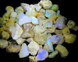 750ct 70Pcs Ethiopian Welo Lot Natural Rough Opal
