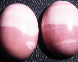 17.95 CTS  18X12mm  AUSTRALIAN  PINK OPAL PAIR [VS6860 ]
