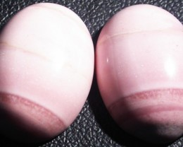 17.00 CTS  18X12mm  AUSTRALIAN  PINK OPAL PAIR [VS6863 ]