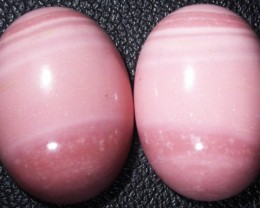 18.00 CTS  18X12mm  AUSTRALIAN  PINK OPAL PAIR [VS 6872]