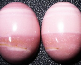 18.35 CTS  18X12mm  AUSTRALIAN  PINK OPAL PAIR [VS6875 ]