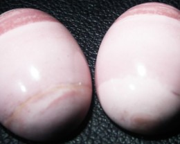 17.75 CTS  18X12mm  AUSTRALIAN  PINK OPAL PAIR [VS6880 ]