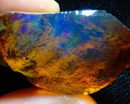$1 NR Auction 80ct Ethiopian Crystal Rough Opal Specimen
