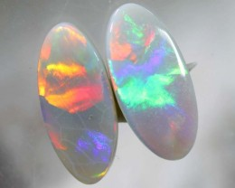 N6 1.90 CTS SOLID OPAL STONE PAIR TBO-3921