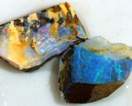 16CTS BOULDER OPAL ROUGH (2-PCS)  DT-5585