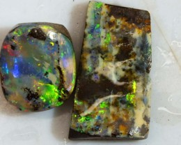 23CTS BOULDER OPAL ROUGH (2-PCS)  DT-5586