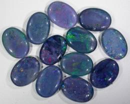 38.9 Cts Parcel 12 large Opal triplets  BU 818