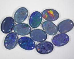 39.55 Cts Parcel 12 large Opal triplets  BU 822