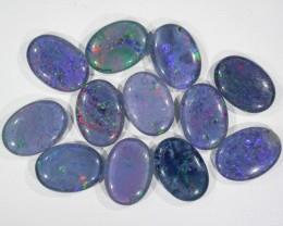 39.9 Cts Parcel 12 large Opal triplets  BU 826