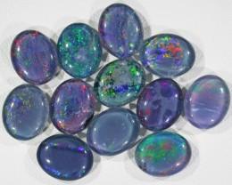 22.1 Cts Parcel 12 Opal triplets  BU 833