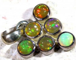 ETHIOPIAN OPAL SILVER PENDANT   9.40   CTS  OF-1122