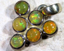 9.25   CTS ETHIOPIAN OPAL SILVER PENDANT  OF-1125