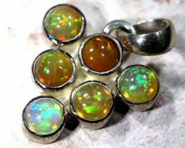 ETHIOPIAN OPAL SILVER PENDANT  10    CTS  OF-1131