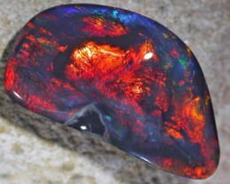 18.20 CTS BLACK OPAL - GLOWING EMBER -
