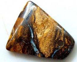 20 CTS BOULDER OPAL STONE DRILLED PENDANT  ADO-2955