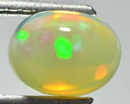 1.62 Cts Natural Ethiopian Multi Color Play Opal Oval Cabs - NR Auction