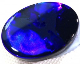 N-1- 3.75  CTS QUALITY BLACK SOLID OPAL LIGHTNING RIDGE INV-270