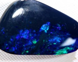 N-1 -12.05  CTS QUALITY BLACK SOLID OPAL LIGHTNING RIDGE INV-273