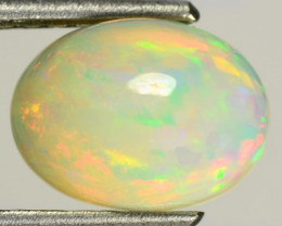 2.02 Cts Natural Multi Color Play Welo Opal Ethiopia $1NR