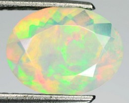 2.20 Cts Natural Ethiopian Color Play Opal Faceted - NR Auction