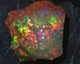6 Ctw Natural Opal Rough Specimen Mexican Fire Opal