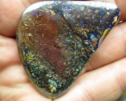 101cts.BOULDER MATRIX OPAL, WOW! HAPPY CHRISTMASS.