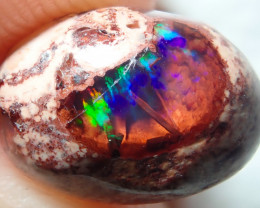 3.35ct Mexican Matrix Cantera Multicoloured Fire Opal