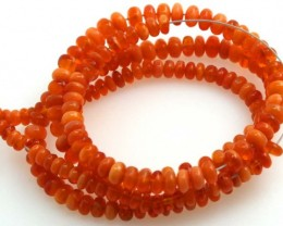 47.05 CTS MEXICAN FIRE OPAL STRANDS FOB-226