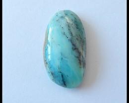 18.4 ct Natural Peruvian Opal Blue Opal Dendritic Opal