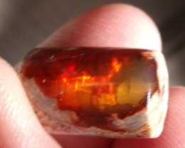 16.0 Ct. Mexican cantera fire opal bead for necklace jewelry