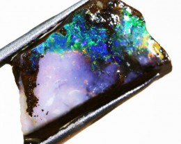 5.25 CTS  BOULDER OPAL ROUGH -PRE SHAPED-OLD STOCK [BY4643 ]