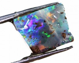 2.70 CTS  BOULDER OPAL ROUGH -PRE SHAPED-OLD STOCK [BY4665 ]